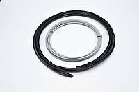 Молдинг усиленный на литые диски MEI LUN BAO/ сменный элемент декора / Серый / 8,15м