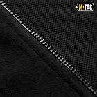 M-Tac куртка Soft Shell с подстежкой Black софтшел черная зимняя, фото 7