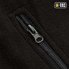 M-Tac куртка Soft Shell с подстежкой Black софтшел черная зимняя, фото 8