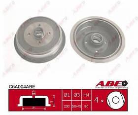 Тормозной барабан Audi 100 C3 1982-1990 (1.8, 1.9, 2.0, 2.0D, 2.2, 2.0TD)
