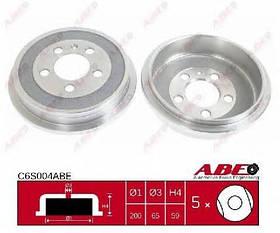 Тормозной барабан Audi A2 2000-2005 (1.2TDI, 1.4, 1.4TDI)