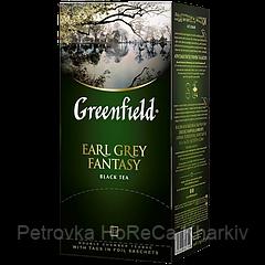 """Чай черный в пакетиках Greenfield  """"Earl Grey Fantasy"""" 25шт Бергамот"""