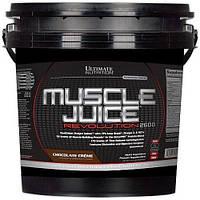 Ultimate nutrition muscle juice revolution 2600 - 5,04 кг - Ваниль, фото 1