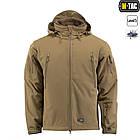 M-Tac куртка Soft Shell з підстібкою Tan зимова, фото 2
