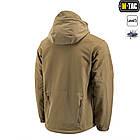 M-Tac куртка Soft Shell з підстібкою Tan зимова, фото 4