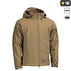 M-Tac куртка Soft Shell з підстібкою Tan зимова, фото 6