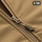 M-Tac куртка Soft Shell з підстібкою Tan зимова, фото 3
