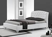 Кровать SOFIA 160 белый Halmar