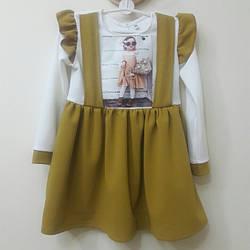 Платье в детский сад для девочки 3-6 лет
