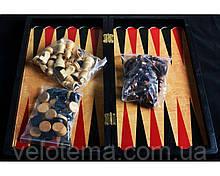 Игровой набор 3в1 нарды шахматы и шашки (29х29 см) №8309