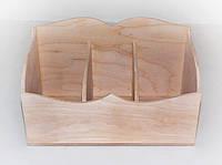 Ящик для зберігання з дерева 25*13*15 см