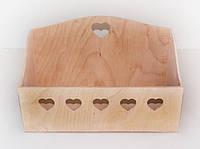 Ящик для зберігання з дерева 30*16*18 см