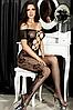 Эротическое белье. Сексуальный комплект Эротический боди-комбинезон Corsetti АURA ( 52  размер  размер XL )
