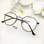 Имиджевые очки в черной оправе, фото 5