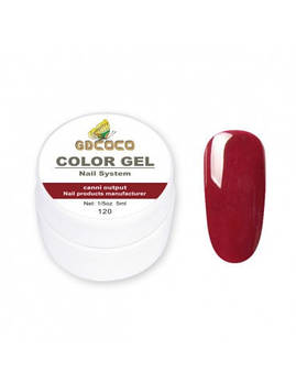 Гель-краска GD COCO №120, 5 мл