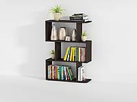 Стеллаж для дома, полка для книг из ДСП на 3 ячейки (4 ЦВЕТА) 700x974x238 мм Возможны Ваши размеры
