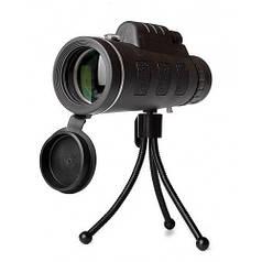 Монокуляр монокль 40x60 HLV 2675-6 с клипсой для смартфона