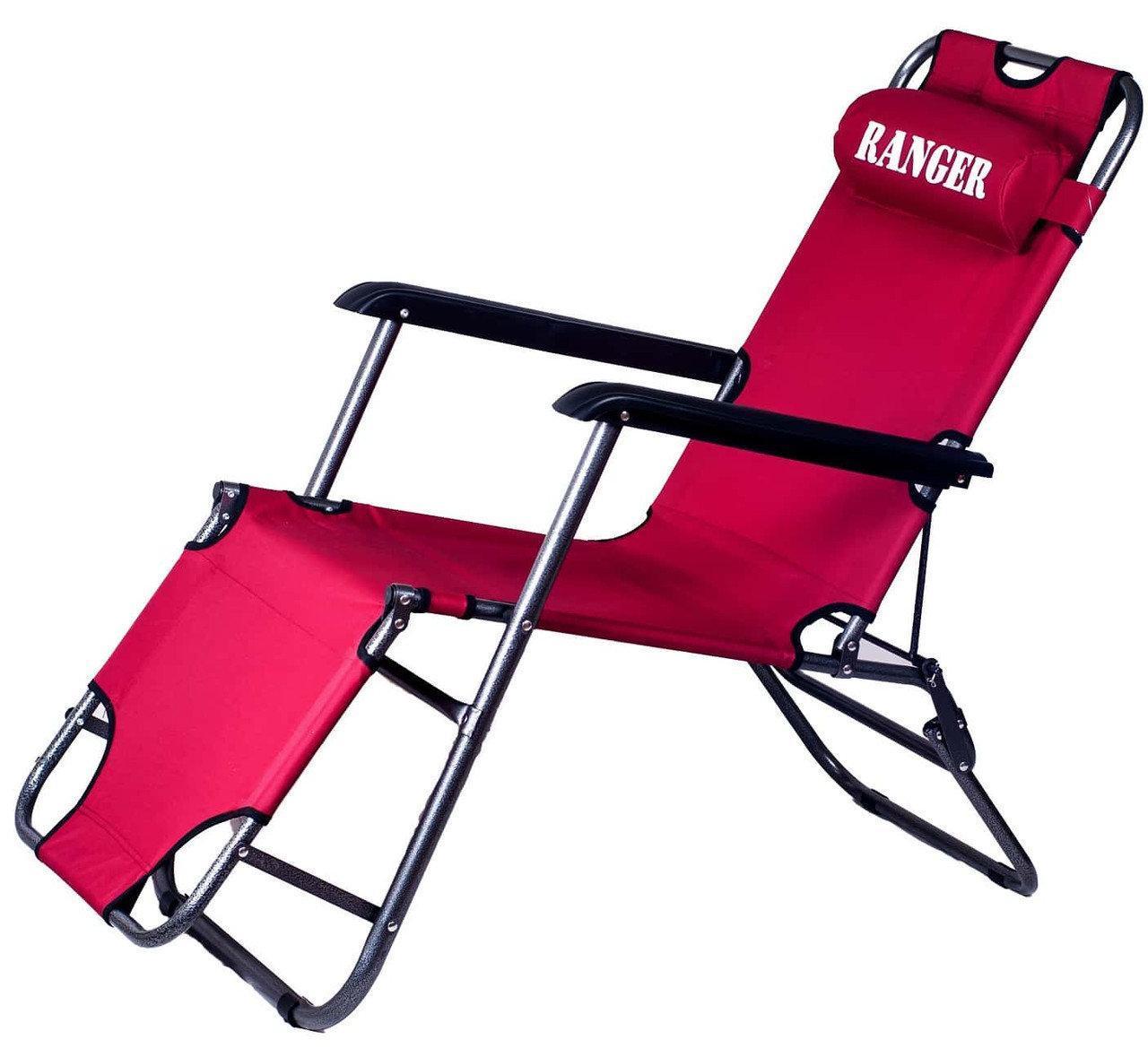Шезлонг Ranger Comfort 3 RA 3304 Red