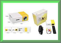 Портативный мини-проектор YG-300 для дома