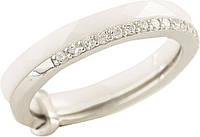 Серебряное кольцо SilverBreeze с керамикой (1213667) 17 размер