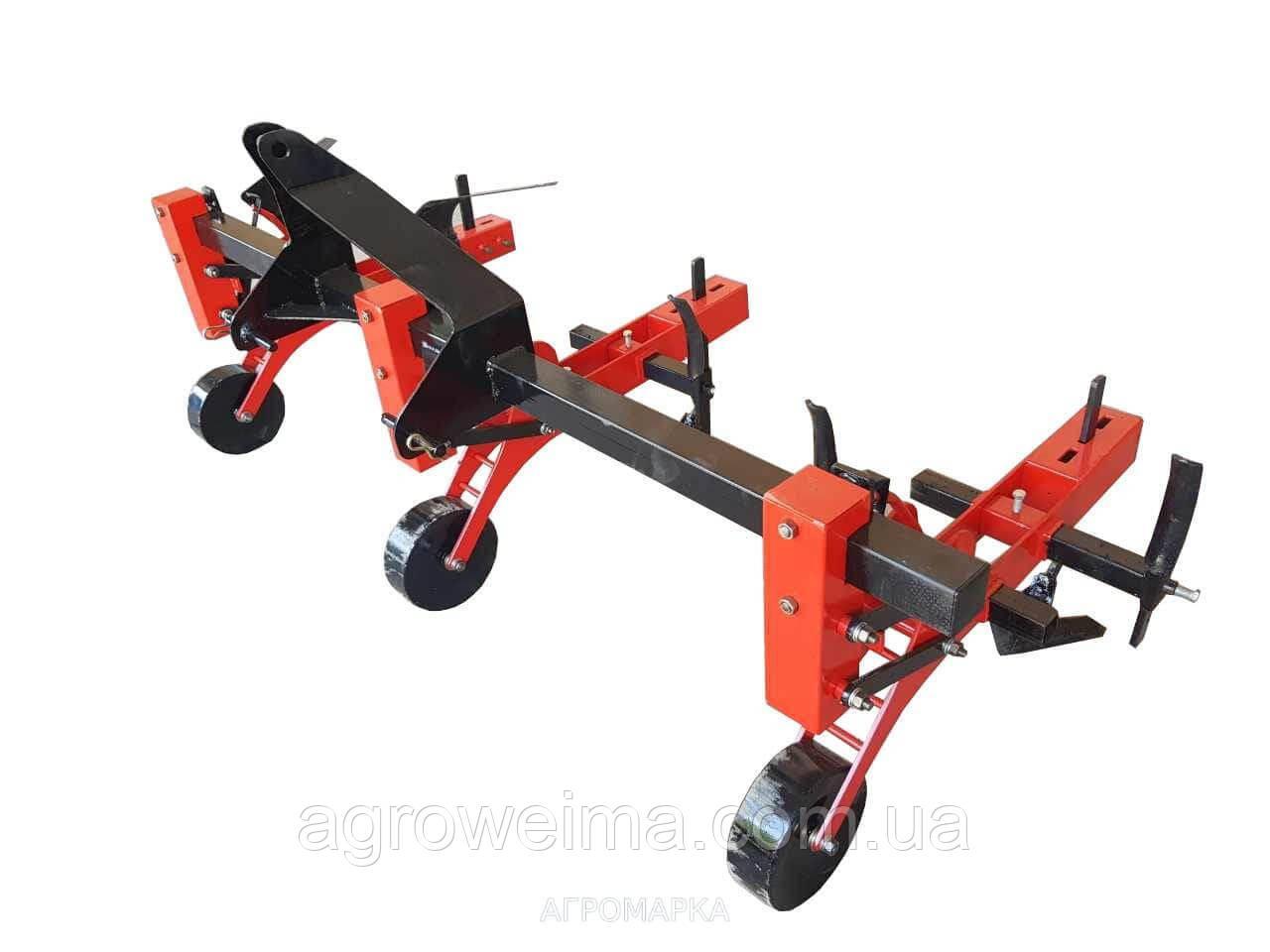 Культиватор КРН-3-1,7 (культиватор навесной для трактора, для обработки междурядий) комплектация: три секции,
