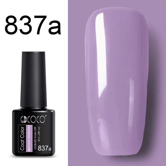 Гель лак GDCoco new collection N837a  8мл