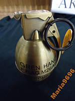 Зажигалка настольная с пепельн. граната М26А1, фото 1