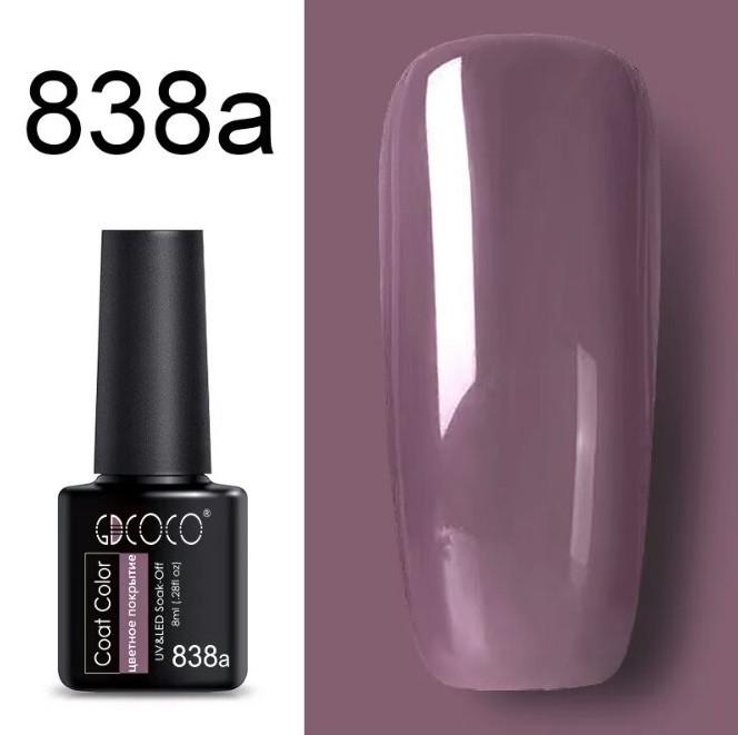 Гель лак GDCoco new collection N838a  8мл