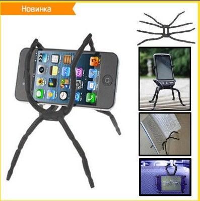 Крепление для телефона паук Spider Fix универсальный держатель
