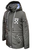 Куртка демисезонная OffWhite для мальчика подростка 36-46 рр