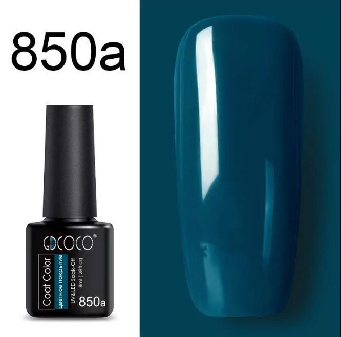 Гель лак GDCoco new collection N801а-850a  8мл