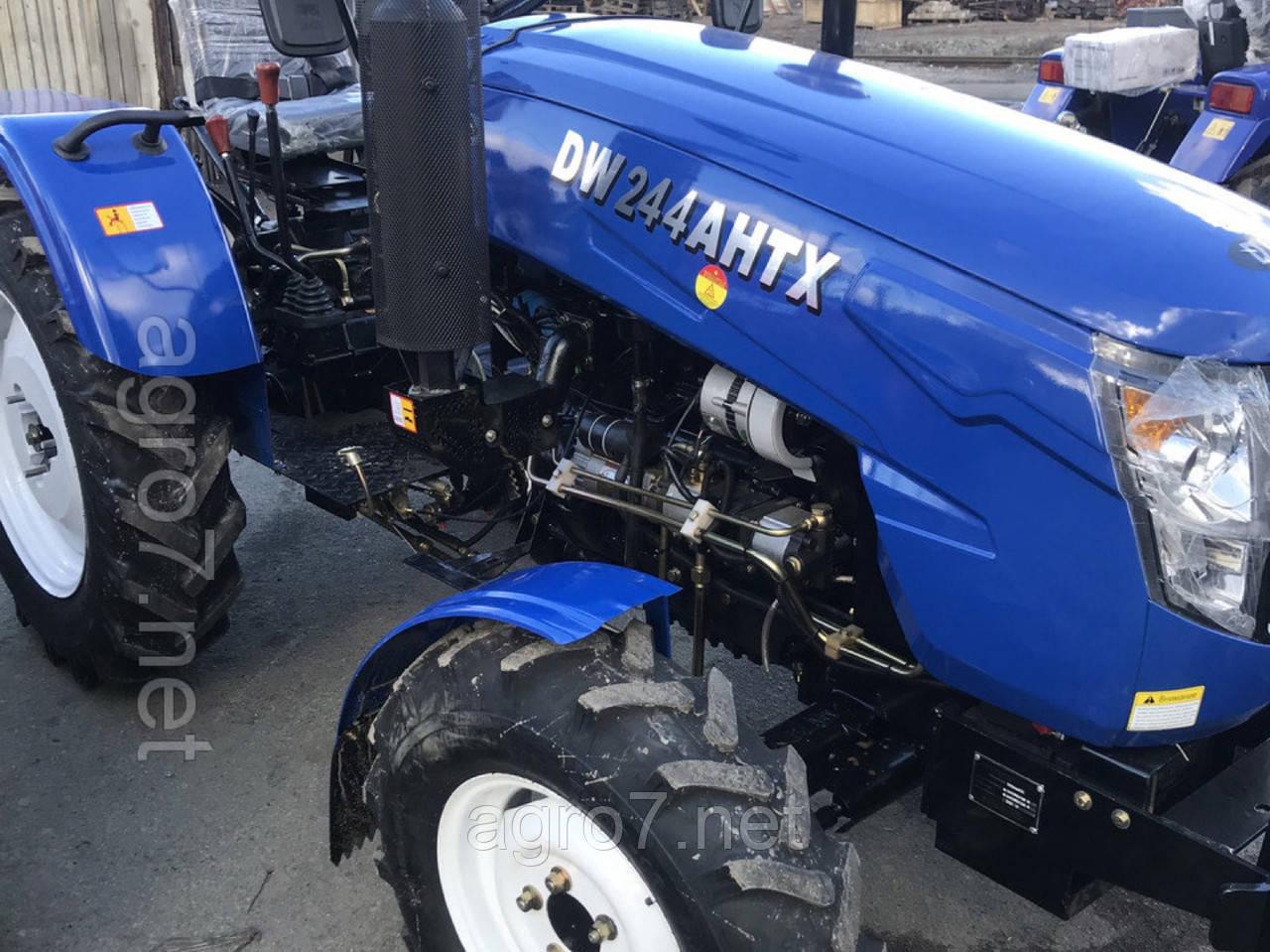 Трактор DW 244 AHTX (3 цил., 4х4, 24л.с., ГУР)