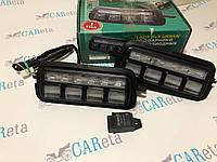 Светодиодные (LED) подфарники Нива с ДХО 2121-21213
