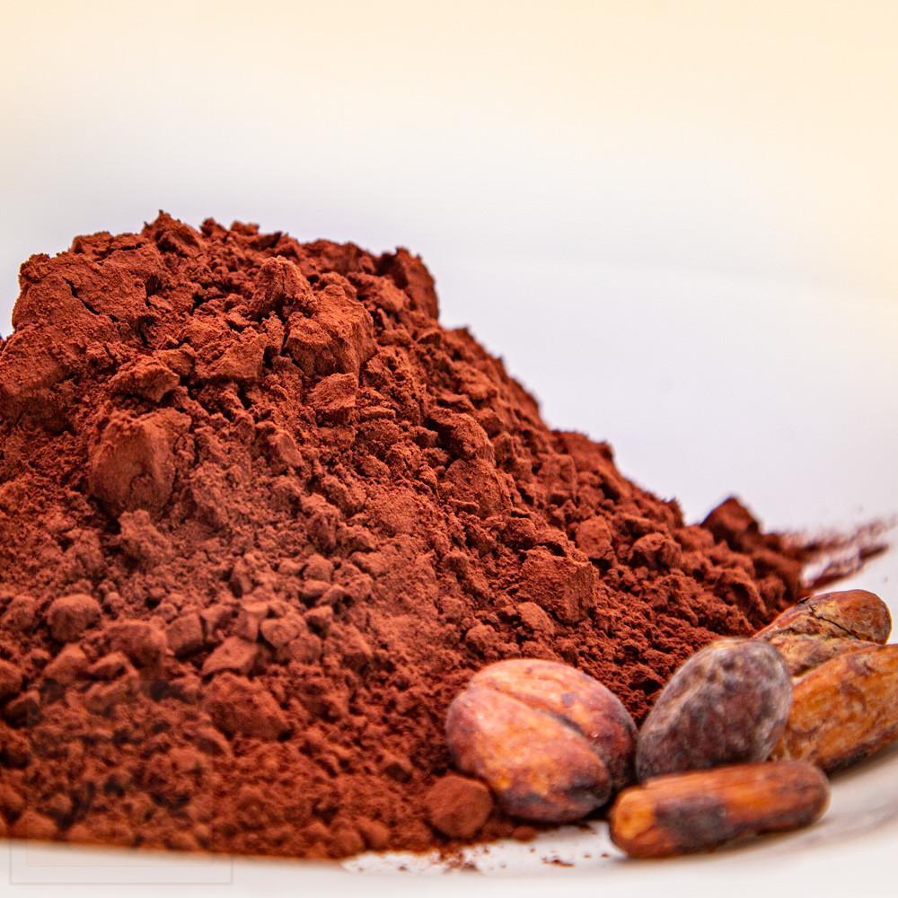 Какао-порошок алкалізований, ж.21%, 500г. Нідерланди DeZaan