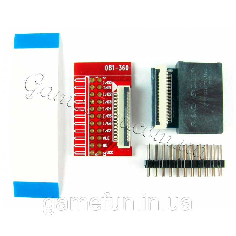 Solderless 360 Clip Universal TSOP NAND Flash Chip for PS3/XBOX360 (32Pin/48Pin (ProgSkeet)
