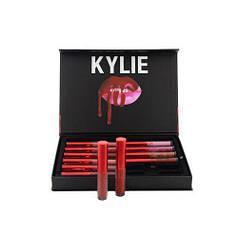 Набор матовых жидких помад 12-в-1 Kylie Short Lip