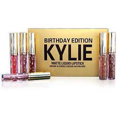 Набор помад жидких матовых 6-в-1 Kylie 8607 Birthday Edition