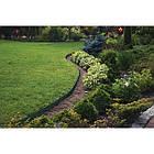 Бордюр газонный, 10м, набор с колышками зеленый, фото 4