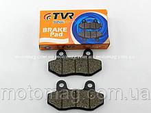 Колодки дискового гальма Вайпер Актив/GY6 50-150cc два вуха(WH-125) TVR