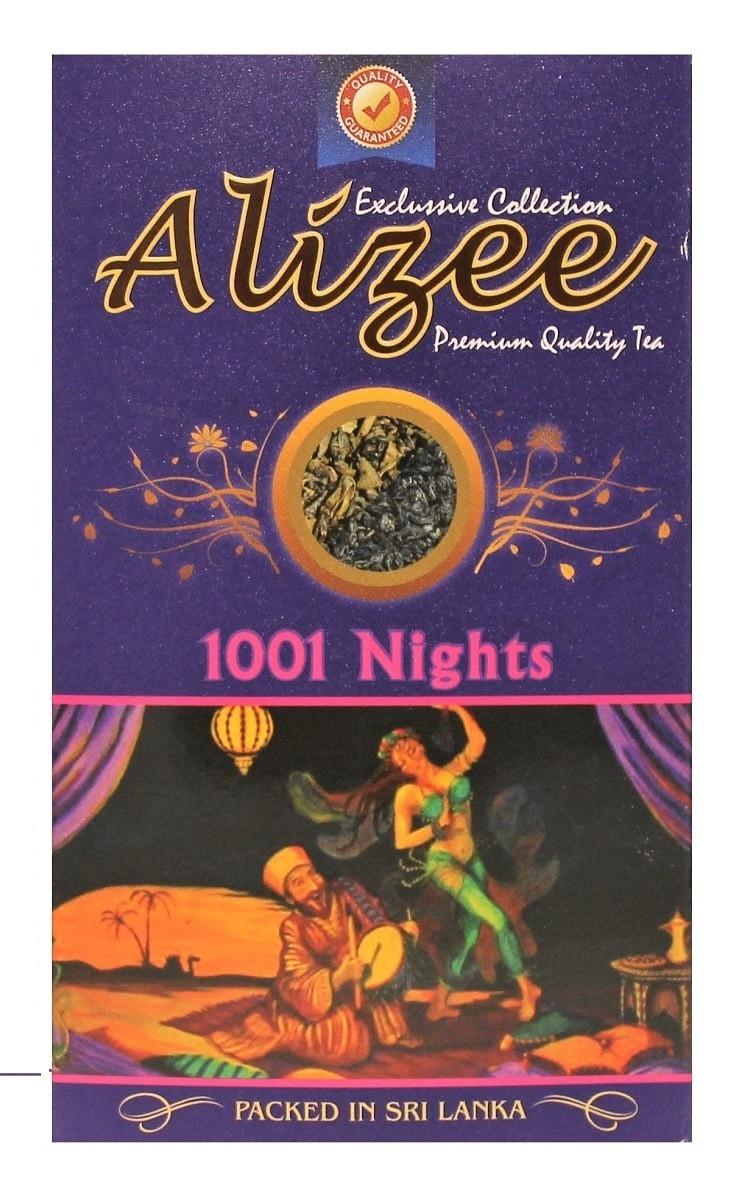 Смесь зеленого и черного чая Ализе 1001 ночь с кусочками манго, маракуйи и папайи 100 грамм
