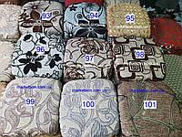 Чехлы на табуретки комплект 4 шт на резинке (сидушка на табурет, стул) №27/7