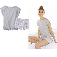 ESMARA®Летний комплект, женская пижама домашний костюм , футболка шорты 36-44, фото 1
