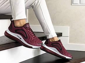 Модные женские кроссовки Nike Air Max 720,бордовые, фото 3