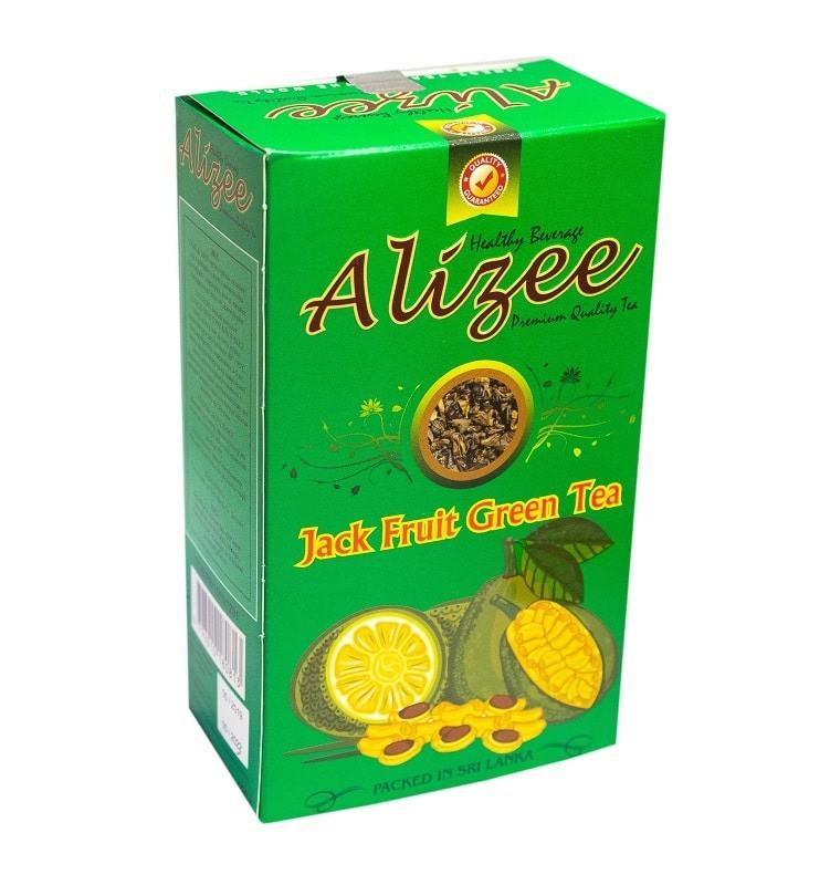 Зеленый чай Ализе с джекфрутом, манго, папайей, маракуйей 100 грамм