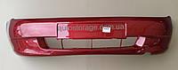 Бампер передний ВАЗ  - 1117, 1118, 1119, Калина, без противотуманок, цвет Калина (НОВЫЙ), фото 1