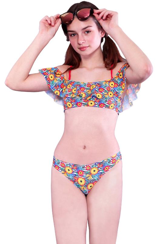 Модный купальник для девочки р-ры 152,158,164