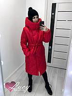 Куртка женская удлиненная теплая (Норма)