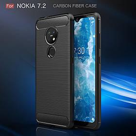 Чохол Carbon Armor для Nokia 7.2