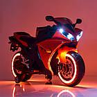 Детский мотоцикл Yamaha R1 M 4069L-3 красный, фото 2