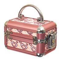 "Кейс-скринька на ключі ""Hearts"" (9*13*9 см.), фото 1"